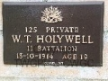 HOLYWELL, William Thomas